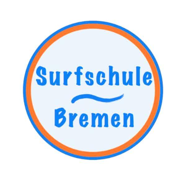 Logo Surfschule-Bremen, rund